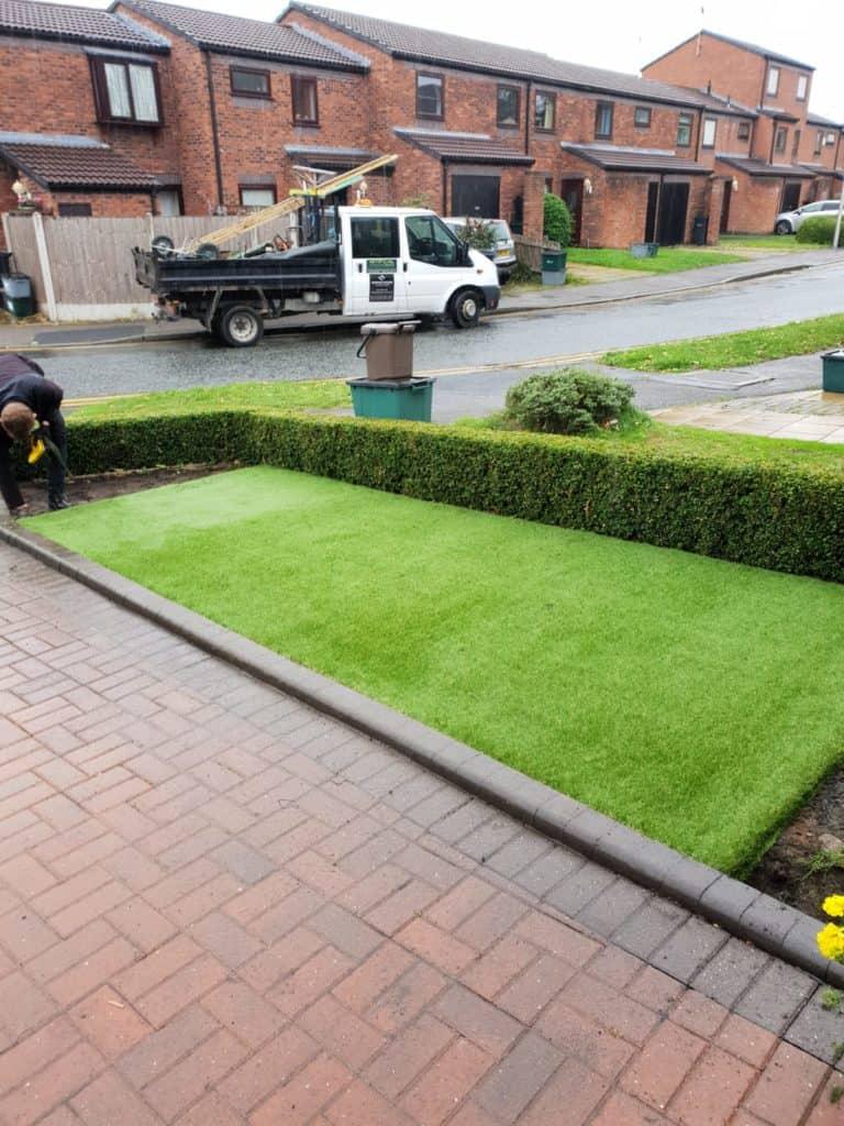 Fun range of artificial grass